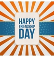 Happy Friendship Day Sale special Tag vector image vector image