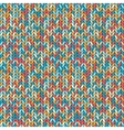 melange knitted seamless background pattern vector image
