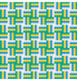 Seamless pattern background in flat design vector image vector image