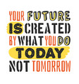 text template for design your future is created by vector image