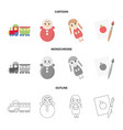 trainkukla picturetoys set collection icons in vector image