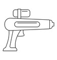 watergun icon outline style vector image vector image