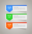 Sticker label color set vector | Price: 1 Credit (USD $1)