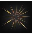 Cartoon Explosion Star Burst vector image vector image