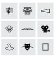 Culture icon set vector image vector image