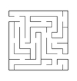 labyrinth Simple vector image