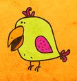 Parrot Cartoon vector image
