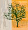 shabby tree vector image