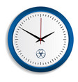 wall clock icon realistic style vector image