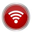 Wireless Icon - icon vector image vector image