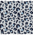 Muted seamless leopard pattern in shades of muted vector image