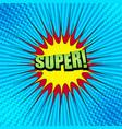 comic book bright concept vector image vector image