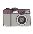 digital photo camera vector image