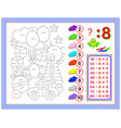 exercises for kids with division number 8