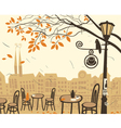 Fall city vector | Price: 1 Credit (USD $1)