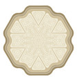 isolated decorative element for card design vector image vector image
