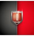premium template us football vector image vector image