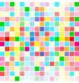 rainbow colors are random scattered vector image vector image