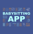 babysitting app concepts banner