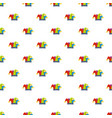carnival jester pattern seamless vector image vector image