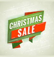christmas sale promotional concept template for vector image
