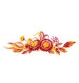 fall foliage vector image