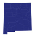 high quality map a state united states of vector image vector image