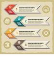 Infographic Concept - Scheme vector image