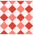 Red Fiesta White Diamond Chessboard Background vector image vector image