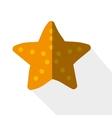 sea star icon vector image