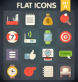 Universal Flat Icons Set for applications 22 vector image