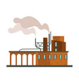 air pollution factory or plant industrial smog vector image vector image