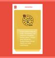 justice mobile vertical banner design design vector image