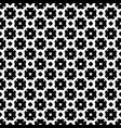 seamless pattern monochrome lattice texture vector image vector image