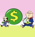 Thieves cartoon vector image