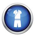 Tennis man uniform icon vector image