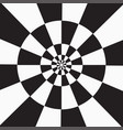 black and white checkered backdrop vector image vector image