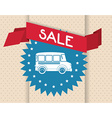 cars on sale vector image vector image