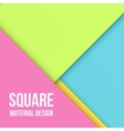 Color Background Unusual modern material design vector image