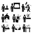 entertainment artist jobs occupations careers vector image