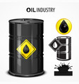 oil industrial vector image
