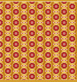 seamless chinese vintage pattern vector image vector image