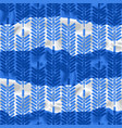 simple abstract pattern blue ethnic floral