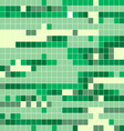 square tile patterngreen square pattern vector image vector image