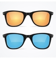 Sunglasses Hipster Style vector image vector image