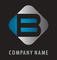 B business logo