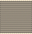 black and white abstract geometric seamless vector image vector image