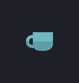Cup computer symbol vector image vector image