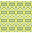 Green circles seamless pattern vector image vector image