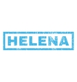 Helena Rubber Stamp vector image vector image